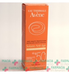 AVENE CUIDADO SOLAR ANTIEDAD SPF 50  50 ML
