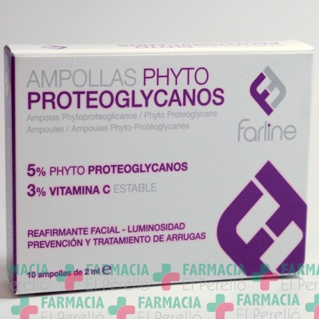 FARLINE AMPOLLAS PHYTOPROTEOGLYCANOS  2 ML 10 AMPOLLAS