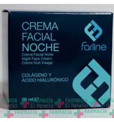 FARLINE CREMA FACIAL DE NOCHE COLAGENO  50 ML