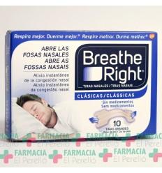 BREATHE RIGHT TIRA ADH NASAL T- GDE 10 U