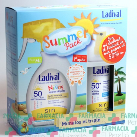 LADIVAL SUMMER PACK