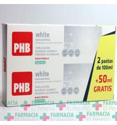 PHB WHITE DUPLO PASTA DENTIFRICA  125 ML 2 TUBOS
