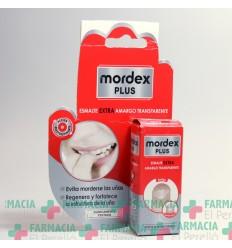 MORDEX PLUS ESMALTE AMARGO TRANSPARENTE  CON PINCEL 9 ML