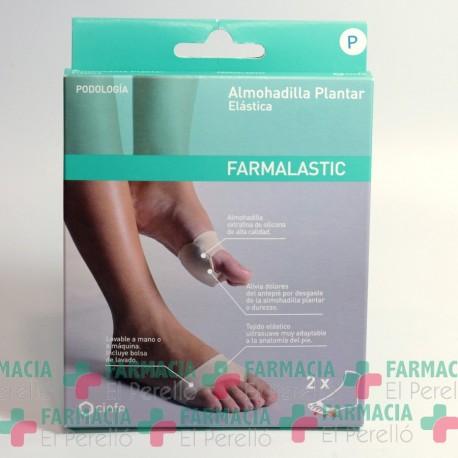 ALMOHADILLA PLANTAR FARMALASTIC GEL DE SILICONA T- 36-38