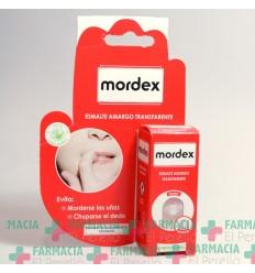 MORDEX ESMALTE AMARGO TRANSPARENTE  CON PINCEL 9 ML
